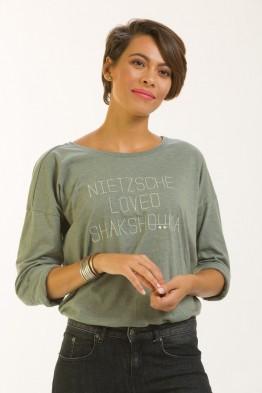 Tshirt loose Nieztsche