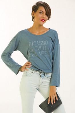 Tshirt loose Picasso