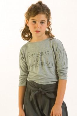 Little BALLERINAS loose Tshirt