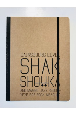 GAINSBOURG Big Notebook