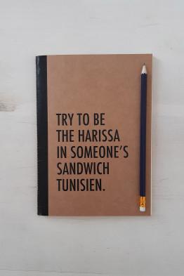 Sandwich Notebook