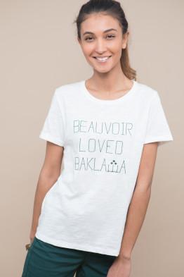 T-shirt Beauvoir