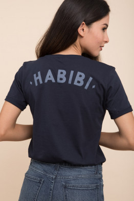 Habibi Navy T-shirt