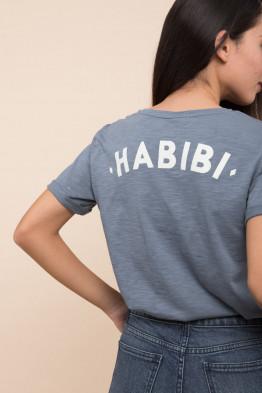 T-shirt Habibi Blue